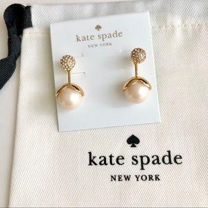 Last one! Kate Spade Pearl Drop Earring